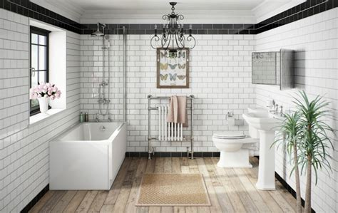 Baths And Showers For Small Bathrooms 8 ways to create a stunning victorian bathroom with tiles