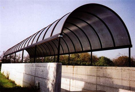 tettoie per porte pensiline in alluminio per porte e scale tendasol