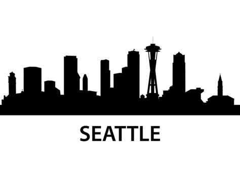 seattle vinyl map 25 beautiful seattle skyline ideas on seattle