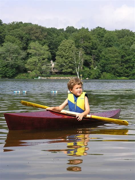 little boats for kids building a child sized kayak from a single sheet of