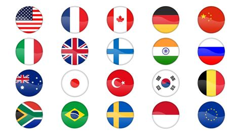 Country Flag Icons Powerpoint Templates Sc Flags Of The World Powerpoint