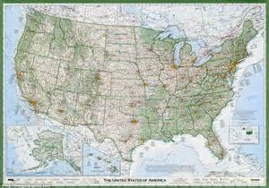 paper road map usa to the details most accurate map produced of