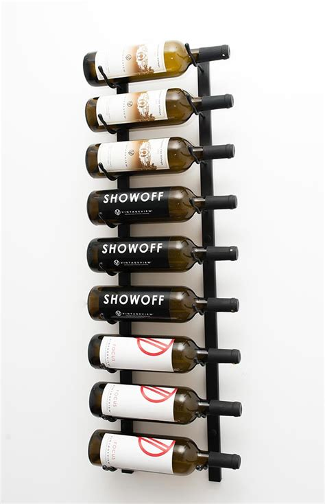 Formidable porte bouteille mural design #1: 9-Bottle-Wall-Mounted-VintageView-Wine-Rack.jpg