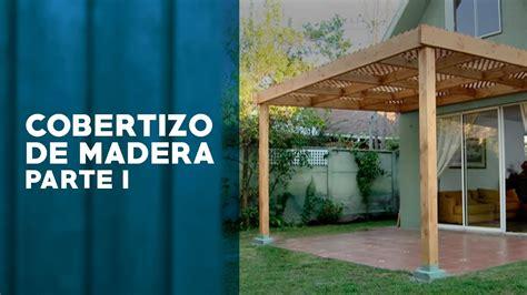 cobertizo para jardin mexico 191 c 243 mo construir un cobertizo de madera primera parte