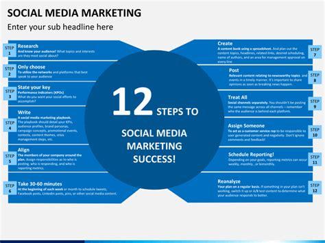 social marketing template social media marketing powerpoint template sketchbubble
