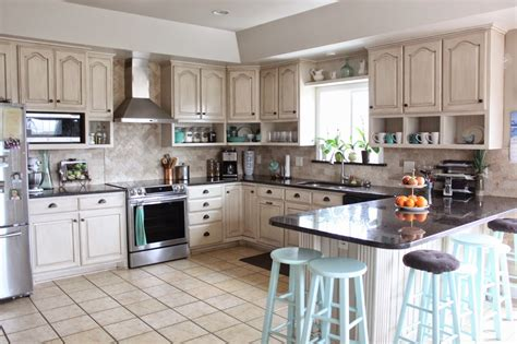 Raise Kitchen Cabinets To Ceiling Namely Original Painted Kitchen And Remodel Reveal
