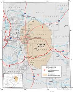 colorado aquifer map denver basin aquifer system coyote gulch