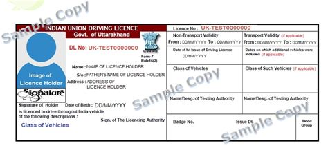 License Verification Letter Uk Caa Licence State Transport Department Government Of Uttarakhand India