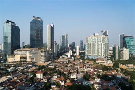 Jakarta City the population of jakarta globeslice