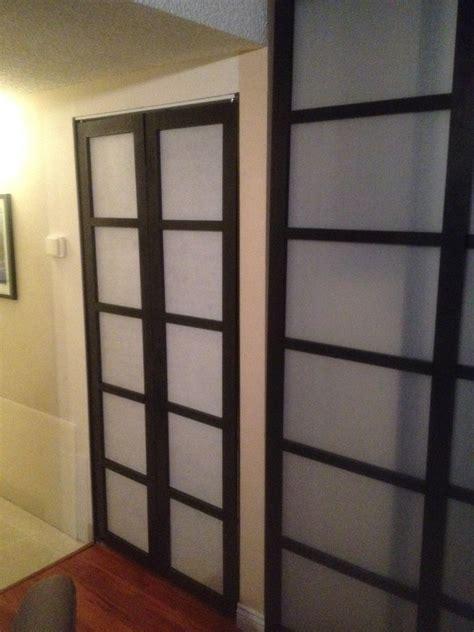 Shoji Screen Closet Doors Shoji Style Sliding Closet Doors From Scratch