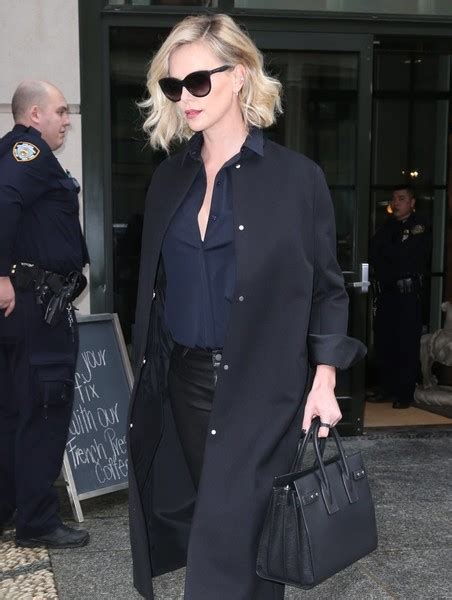 Charlize Theron With And Balenciaga Purses by Charlize Theron Page 237 Purseforum