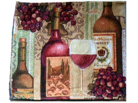 Home Decor Stores Uk by Merlot Wine Grapes Tapestry Table Runner