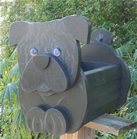 pug planter pug mailbox novelty dog mailboxes