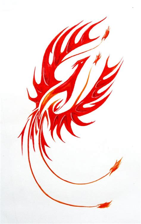 fire phoenix tattoo designs 28 best rising tribal tattoos for images on