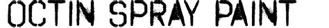 spray paint fonts generator octin spray paint font