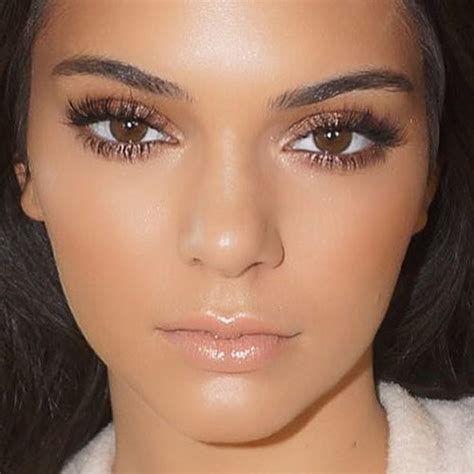 tutorial makeup kendall jenner kendall jenner inspired makeup tutorial bronzy glowy