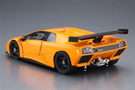 Lamborghini Diablo Model Car by Lamborghini Diablo Gtr Aoshima Car Model Kit Cz