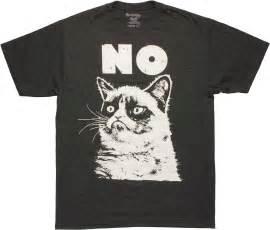 grumpy cat no t shirt sheer