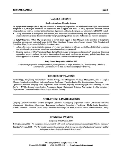 human resources resume sles exles resume sles