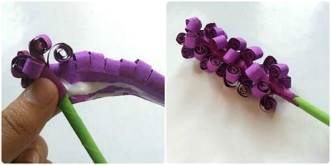 cara membuat bunga lavender dari kertas origami cara membuat bunga dari kertas tisu dan origami mudah