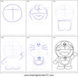 How To Draw Doraemon How To Draw Doraemon Printable Step By Step Drawing Sheet
