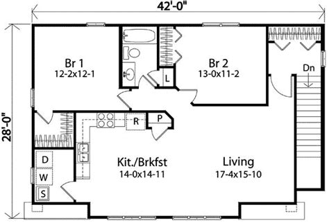 carriage house floor plans two bedroom carriage house plan 22104sl 2nd floor