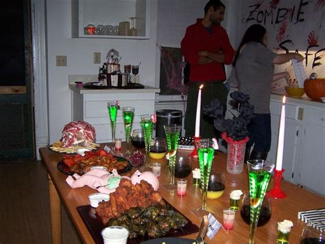 zombie themed birthday party zombie party spread halloween party halloween and parties