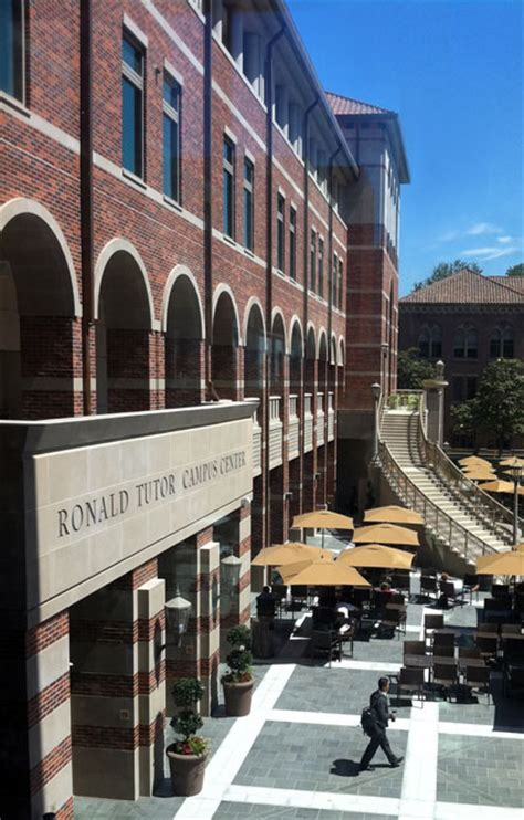 Usc Mba Partners Student Org by Usc Student Center Dm1 Advanced Architectural