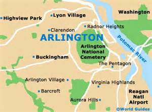 arlington map arlington travel guide and tourist information arlington