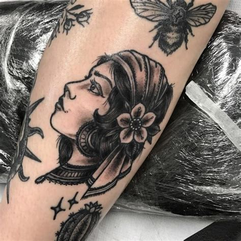 gypsy tattoo meaning 65 enchanting tattoos designs and meaning 2018