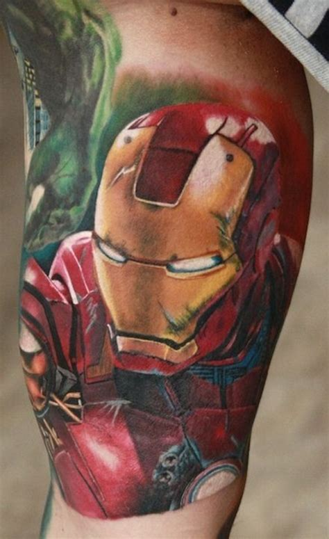 iron man tattoo 50 best ironman tattoos designs and ideas