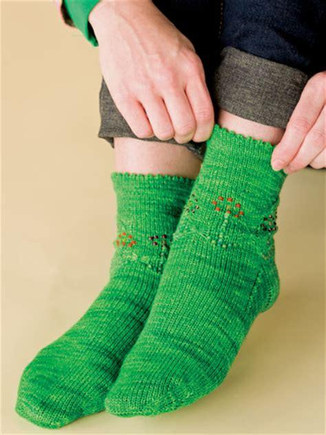 butterfly garden socks free sock knitting patterns free knit pattern