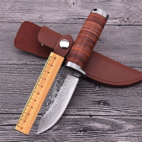 knife scabbard pattern handmade duanda hunting tactical fixed blade knife pattern