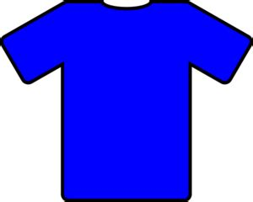 Kaos Math Science 23 blue t shirt clip at clker vector clip