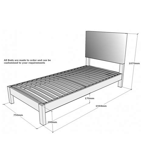 Single Bed Standard Size Bed Sizes Dimensions King Queen Size Bed Dimensions