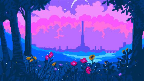 pixel art aesthetic wallpaper wallpaper   hd