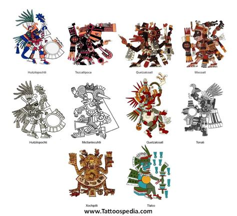 aztec tattoos history tattoospedia