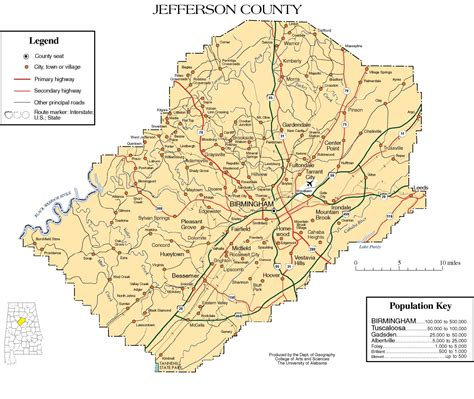 where is jefferson on a map maps of jefferson county
