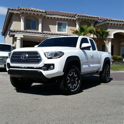 toyota ta wheel spacers 3rd white tacomas post them up page 63 tacoma world
