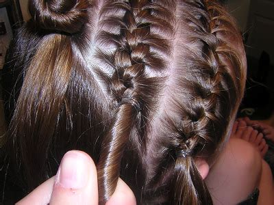 hairstyles with elastics feed in braids with rubber bands method pictures new