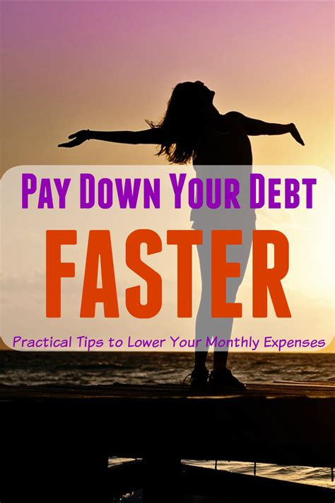 practical tiips  pay   debt faster  save