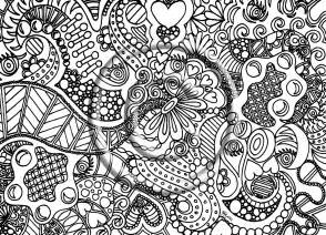abstract pictures color free coloring pages art coloring pages