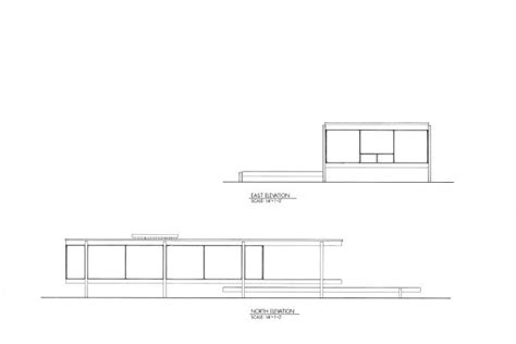 farnsworth house plan dimensions farnsworth house plans sections and elevations
