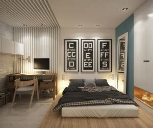 Small Square Bedroom Design Ideas Homes 400 Square 5 Apartments That Squeeze