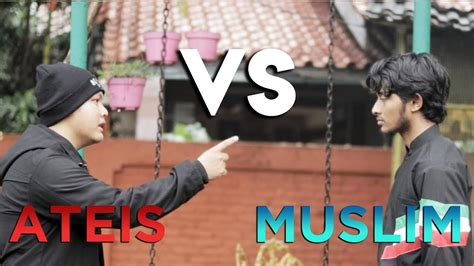 Tshirt Kitabisa debat pemuda ateis vs muslim