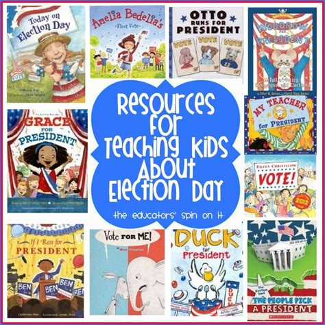kid for president books 25 best ideas about election day on civic