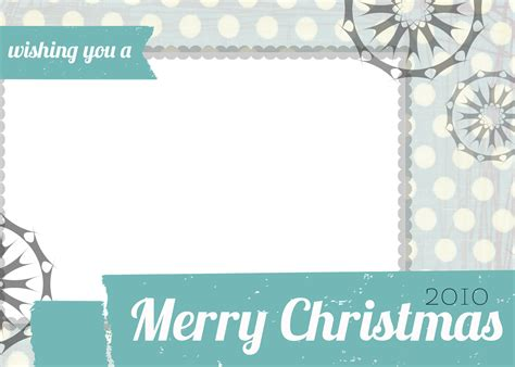 Free Christmas Card Templates Cyberuse Card Templates