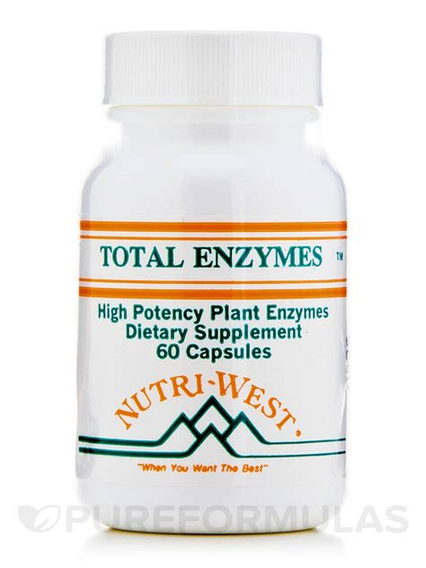 Nutri West Total Systemic Detox by Total Enzymes 60 Capsules