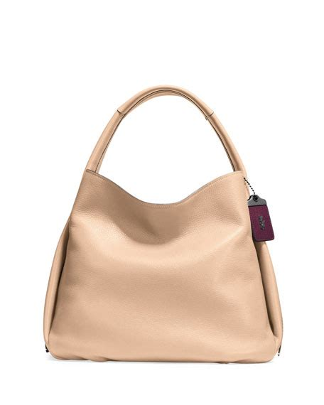 Coach 1941 Pebbled Leather Bag by Coach 1941 Pebbled Leather Hobo Bag Neiman