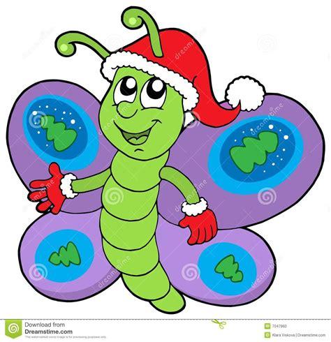 imagenes mariposas navidad mariposa linda de la navidad foto de archivo imagen 7047960